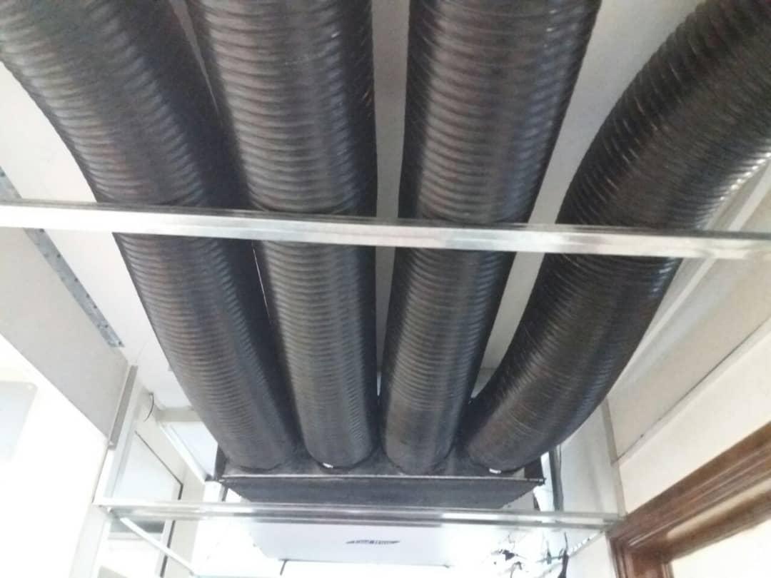 تولید اسپلیت کانالی سقفی (داکت اسپلیت) ونداد